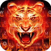 Cruel Tiger 3D Keyboard Theme icon