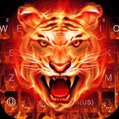 Cruel Tiger 3D Keyboard Theme icon