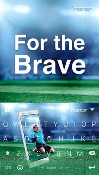 For the Brave Kika Keyboard poster
