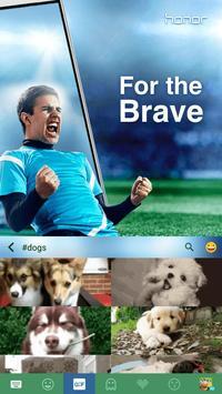For the Brave Kika Keyboard apk screenshot