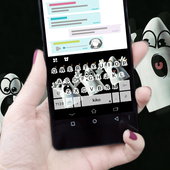Funny Ghost Keyboard Theme icon