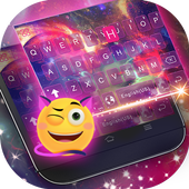 Dreamer Galaxy Emoji Keyboard Theme icon