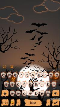 Ghastly Halloween Keyboard Theme poster