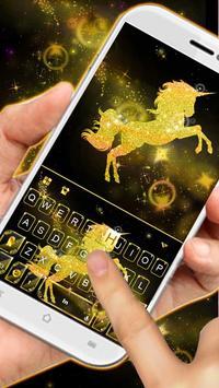 Gold Luxury Unicorn screenshot 1