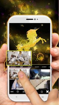 Gold Luxury Unicorn screenshot 3