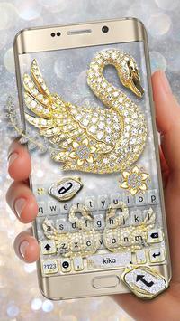 Golden Diamond Swans poster