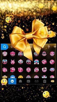 Luxury Bowknot Keyboard Theme screenshot 1