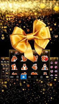 Luxury Bowknot Keyboard Theme screenshot 2