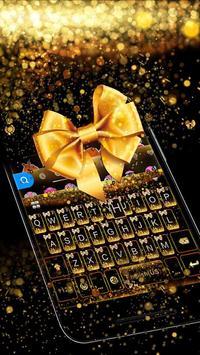 Luxury Bowknot Keyboard Theme screenshot 3