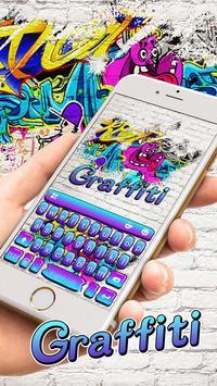 Swag Graffiti Keyboard theme poster