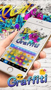 Swag Graffiti Keyboard theme apk screenshot