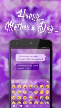 Happy Mother's Day Kika Theme apk screenshot