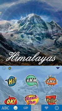 Himalayan Keyboard Theme apk screenshot