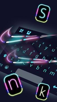 Sports Neon Club Sneaker keyboard screenshot 1