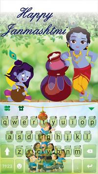 Janmashtami Keyboard Theme poster