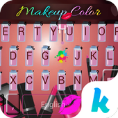 Keyboard - Makeup Color New Theme icon
