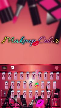 Keyboard - Makeup Color New Theme poster