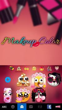 Keyboard - Makeup Color New Theme apk screenshot