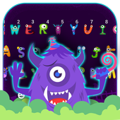 Grimace Monster Keyboard icon