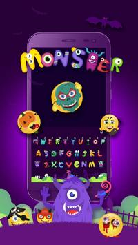 Grimace Monster Keyboard Theme screenshot 1
