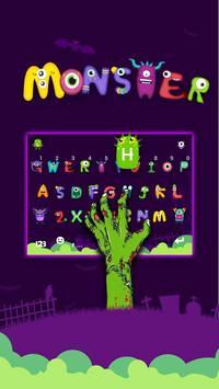 Grimace Monster Keyboard Theme screenshot 2