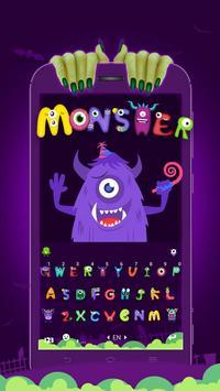 Grimace Monster Keyboard Theme screenshot 3