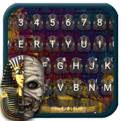 Mummy Mystery Emoji Keyboard Theme icon
