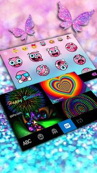 Pink Sparkle Butterfly screenshot 3