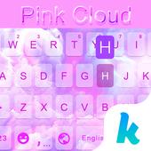 Pink Cloud Kika Keyboard Theme icon