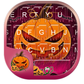 Purple Halloween Keyboard Theme icon