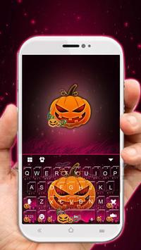 Purple Halloween Keyboard Theme poster