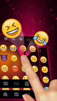 Purple Halloween Keyboard Theme apk screenshot