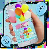 Rainbow Balloon icon