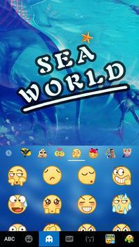 Keyboard - Sea World New Theme apk screenshot