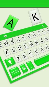 Tema Keyboard SMS Chatting imagem de tela 1