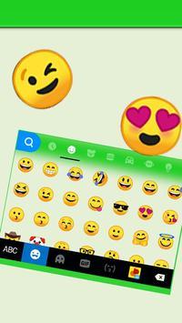 Tema Keyboard SMS Chatting imagem de tela 2