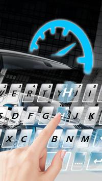 Sports Cool Car Keyboard Theme poster