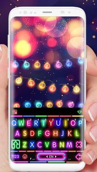 Sparkle Neon Lights poster