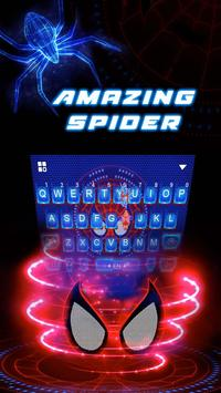 Hero Amazing Spider Super Keyboard Theme screenshot 1