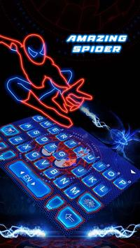 Hero Amazing Spider Super Keyboard Theme screenshot 3