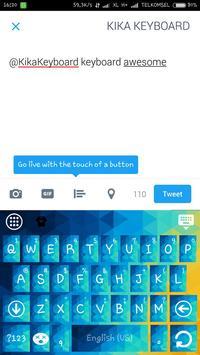 Splash Theme for Kika Keyboard apk screenshot