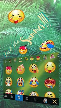 Keyboard - Summer Rain New Theme poster