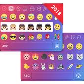Emoji one for Kika Emoji Theme Keyboard 2018 Free icon