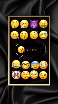 Free iPhone IOS Emoji for Keyboard+Emoticons apk screenshot