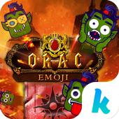 Orac Emoji Kika Keyboard Pro icon