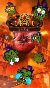 Orac Emoji Kika Keyboard Pro poster