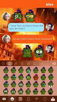 Orac Emoji Kika Keyboard Pro apk screenshot