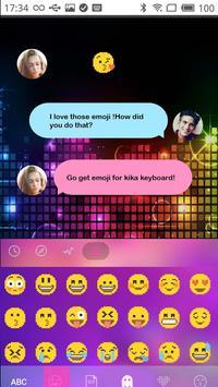 Pixel Emoji Kika Keyboard GIFs apk screenshot