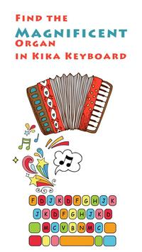 Organ Sound for Kika Keyboard poster