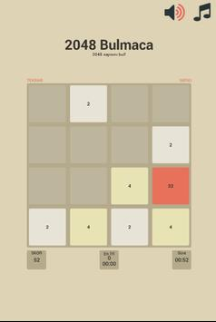 2048 Bulmaca Oyunu apk screenshot